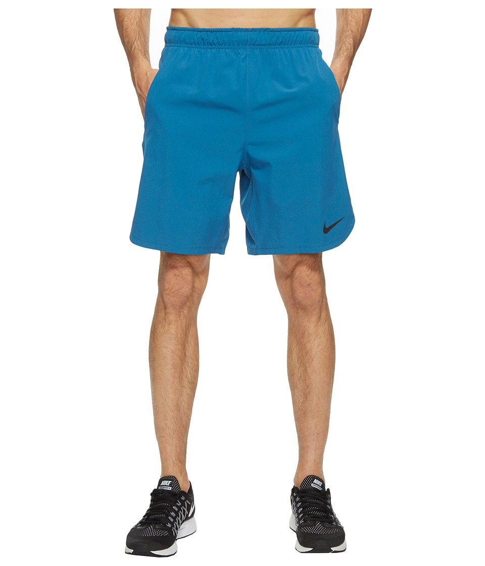 Nike Flex 8 Training Short (Industrial Blue/Black) Men