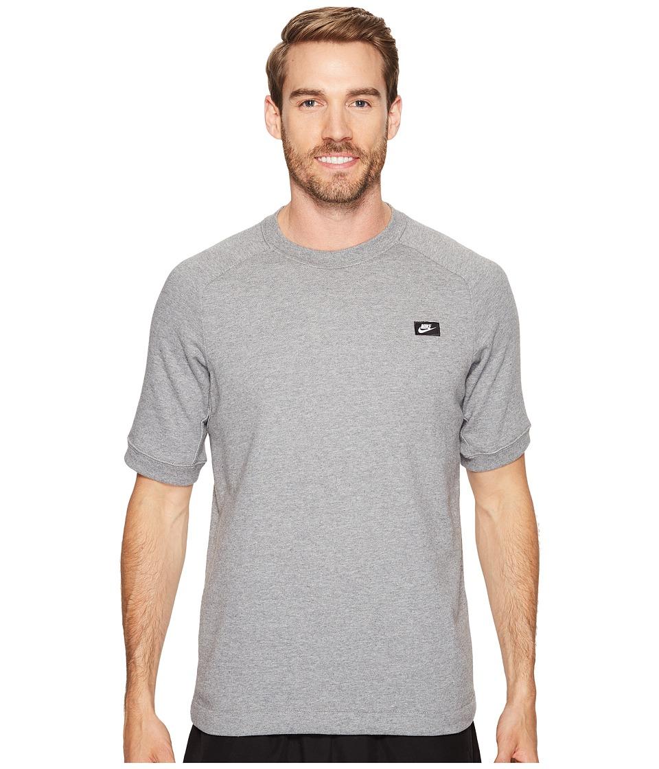 Nike - Sportswear Modern Crew (Carbon Heather) Men's Clothing