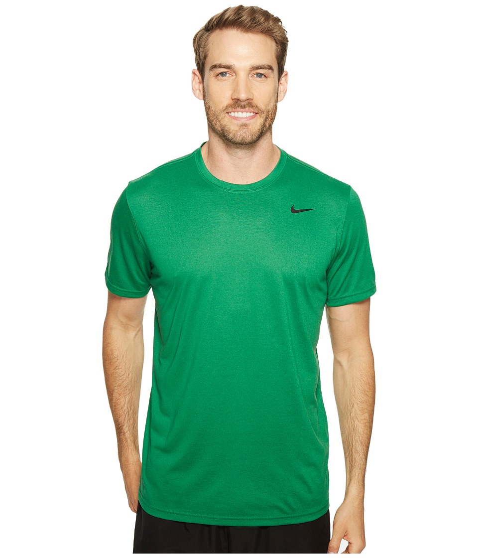 Nike Legend 2.0 Short Sleeve Tee (Pine Green/Black) Men