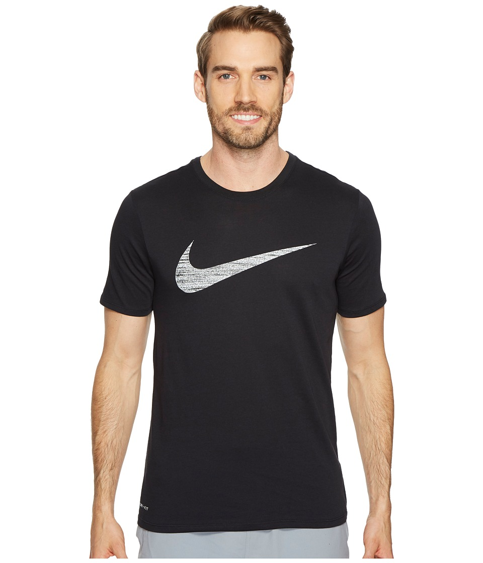 Nike Dry Swoosh Training T-Shirt (Black) Men