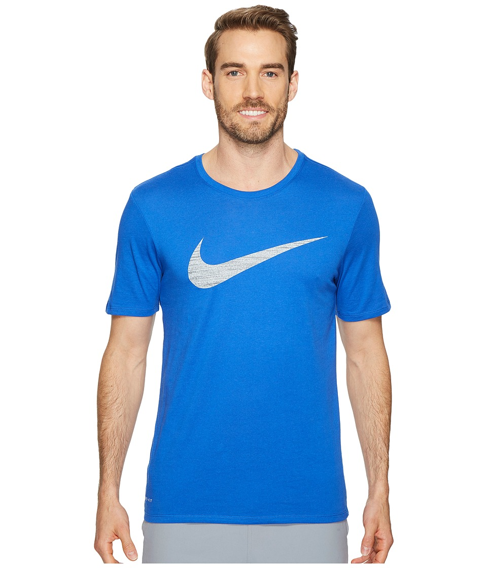Nike Dry Swoosh Training T-Shirt (Game Royal) Men