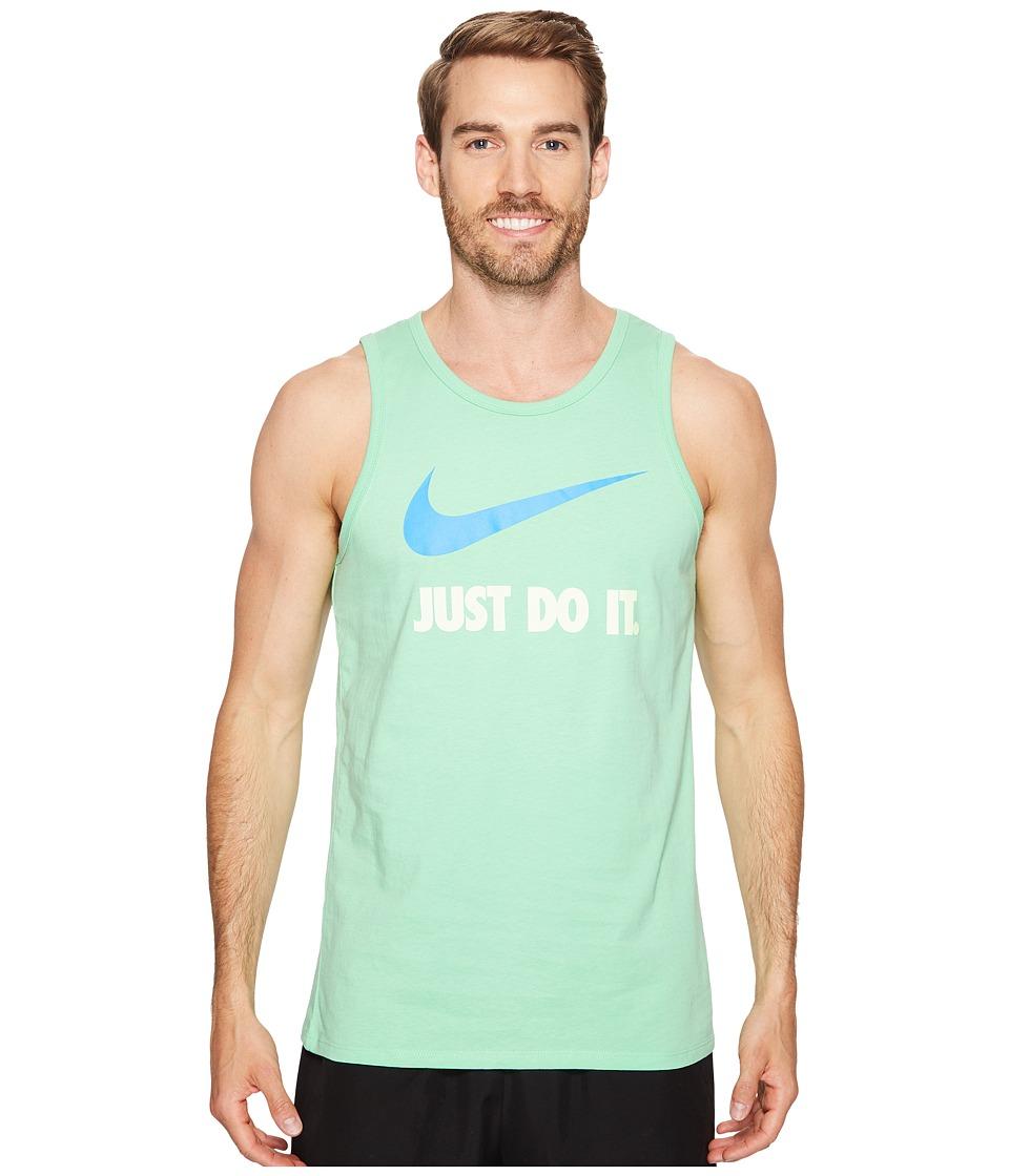Nike Just Do It Swoosh Tank (Tourmaline/Light Photo Blue) Men