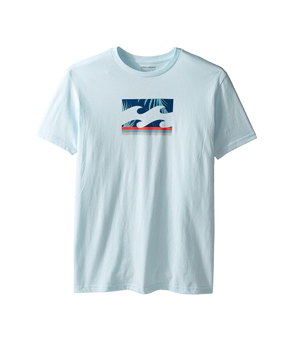Billabong Kids Team Wave T-Shirt (Big Kids) (Coastal Blue) Boy