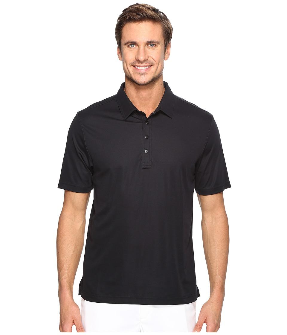 TravisMathew - The Ten Year Polo (Black) Men's Clothing