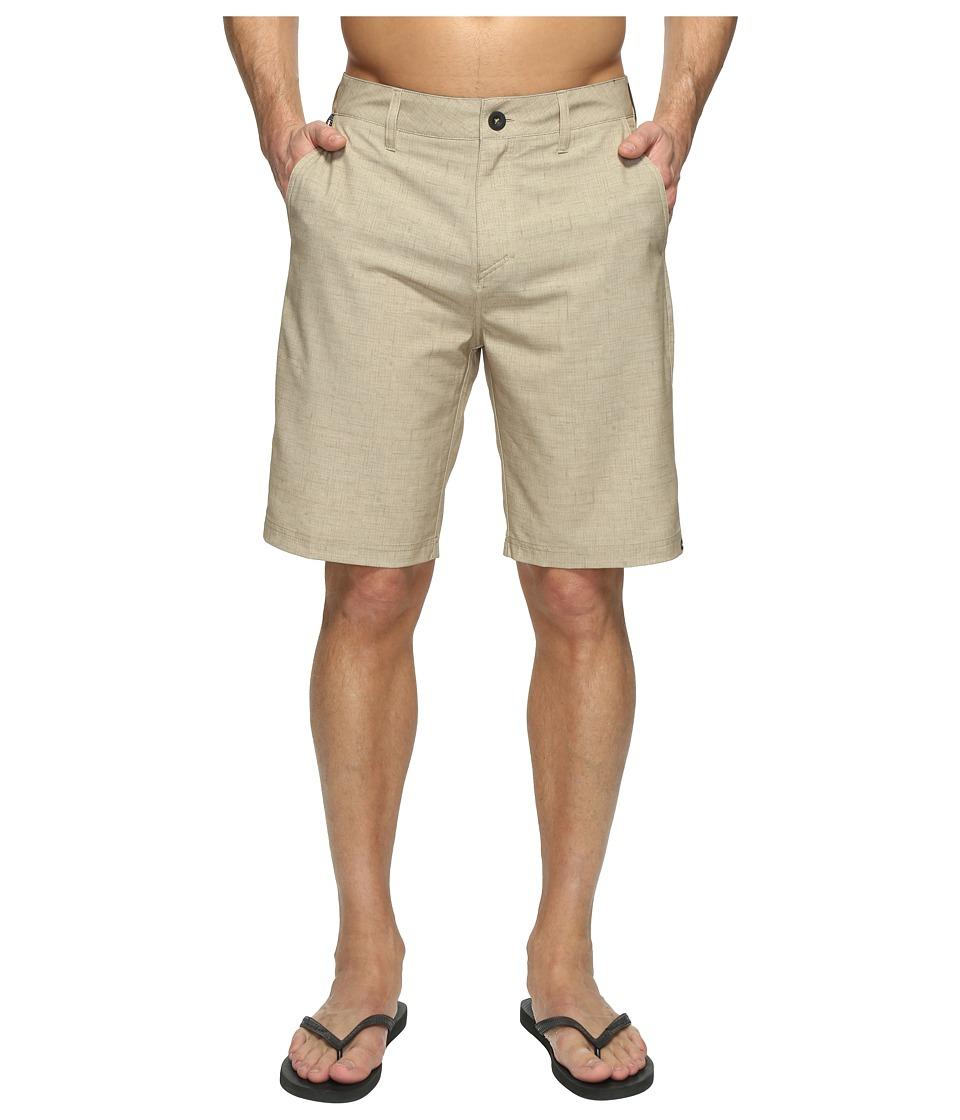 Quiksilver Platypus Amphibian 21 Hybrid Shorts (Elmwood) Men