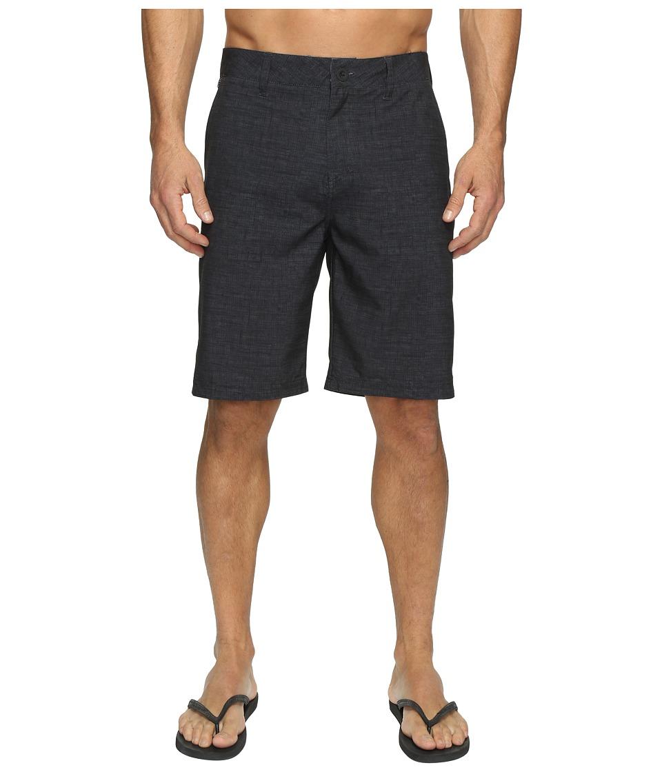 Quiksilver Platypus Amphibian 21 Hybrid Shorts (Black) Men