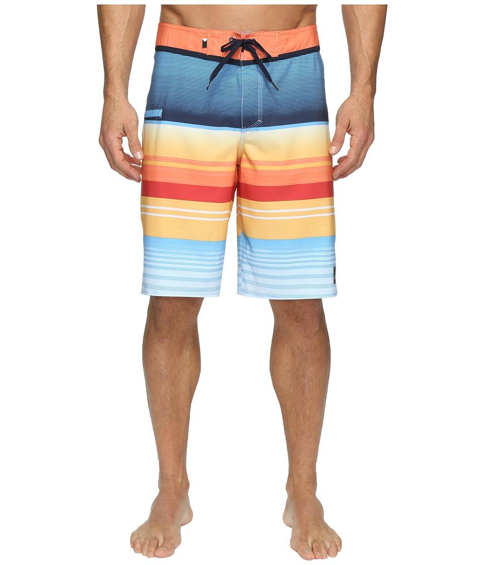 Quiksilver Everyday Stripe Vee 21 Boardshorts (Nasturticm) Men
