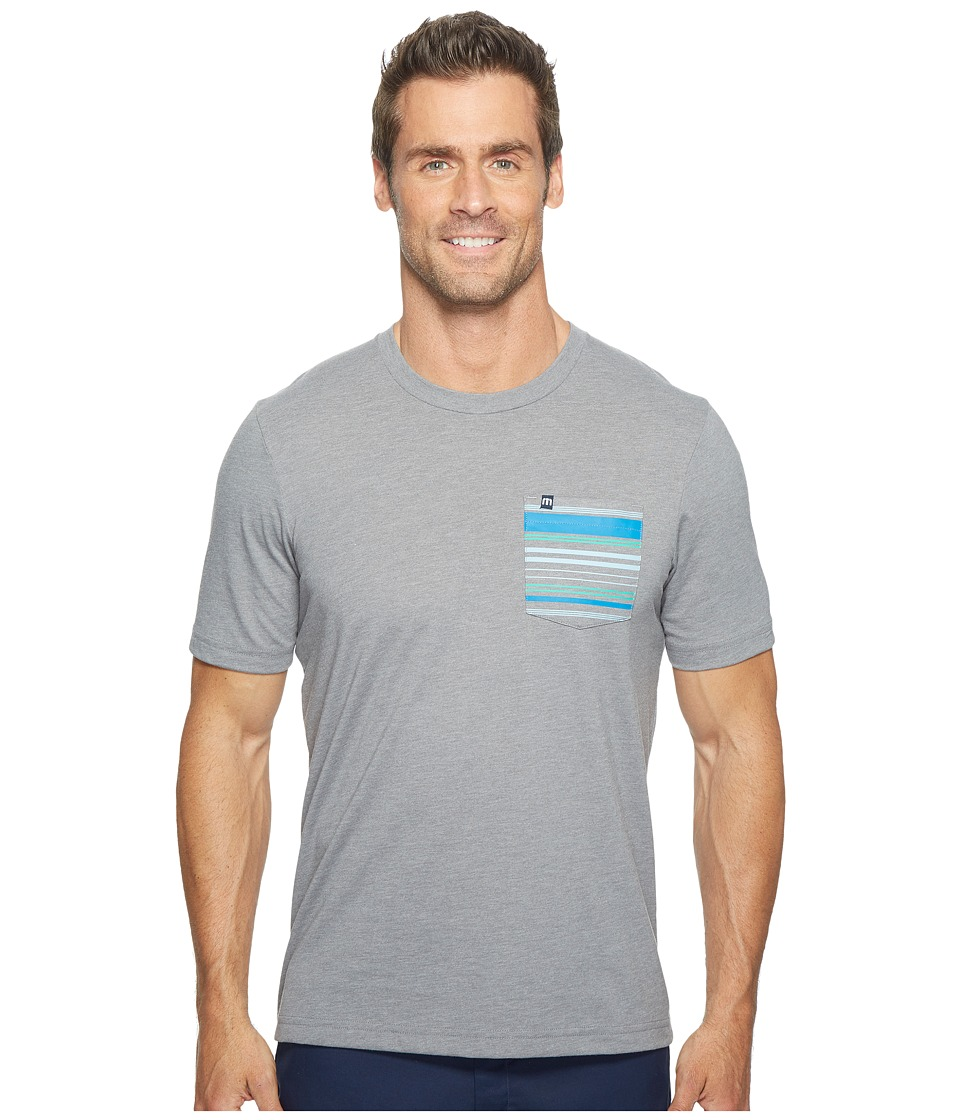 TravisMathew Crockett T-Shirt (Heather Grey) Men