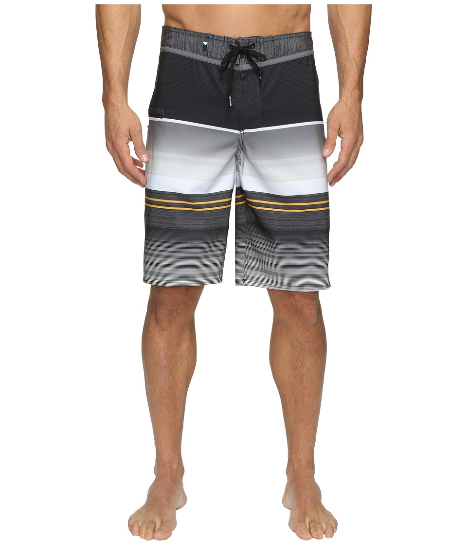 Quiksilver Everyday Stripe Vee 21 Boardshorts (Tarmac 1) Men
