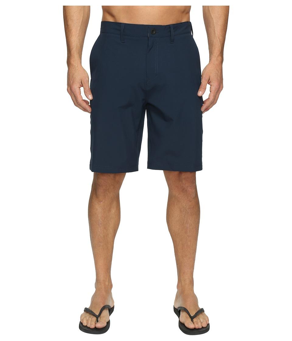 Quiksilver Solid Amphibian 21 Hybrid Shorts (Navy Blazer) Men