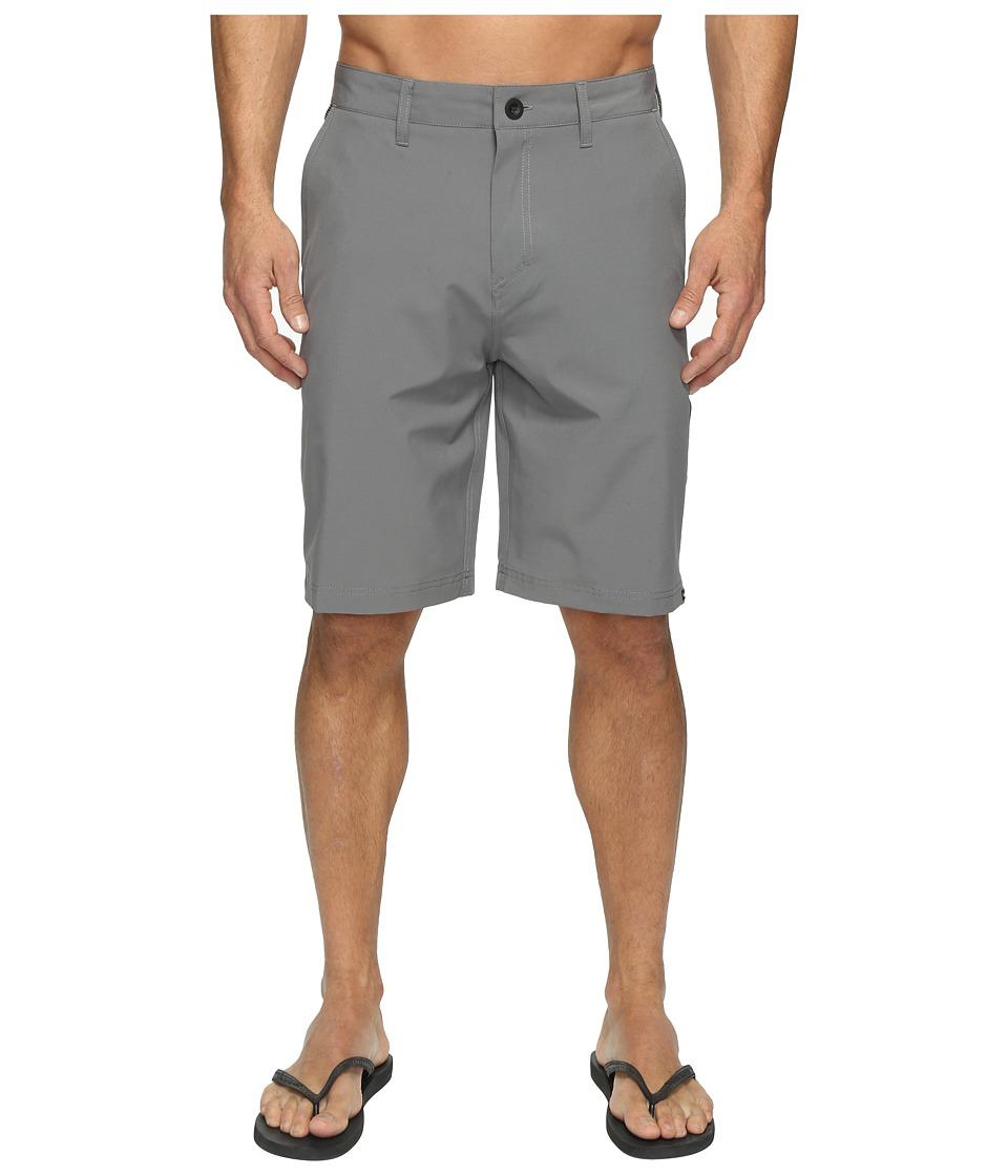 Quiksilver Solid Amphibian 21 Hybrid Shorts (Quiet Shade) Men