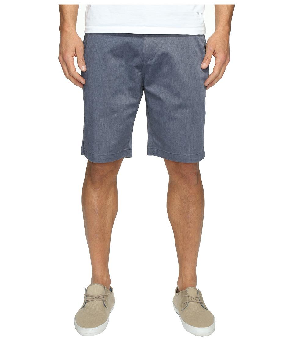 Quiksilver Everyday Union Stretch Chino Shorts (Navy Blazer Heather) Men