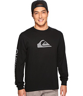 Quiksilver - Mountain Wave Logo Long Sleeve Tee