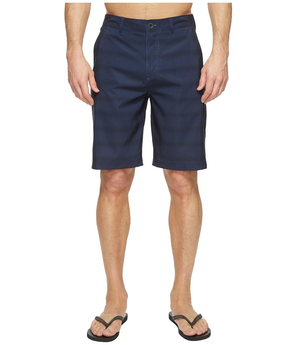 Quiksilver Lines Amphibian 21 Hybrid Shorts (Navy Blazer) Men