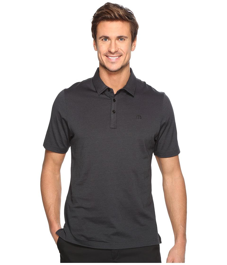 TravisMathew - The Zinna Polo (Black) Men's Clothing
