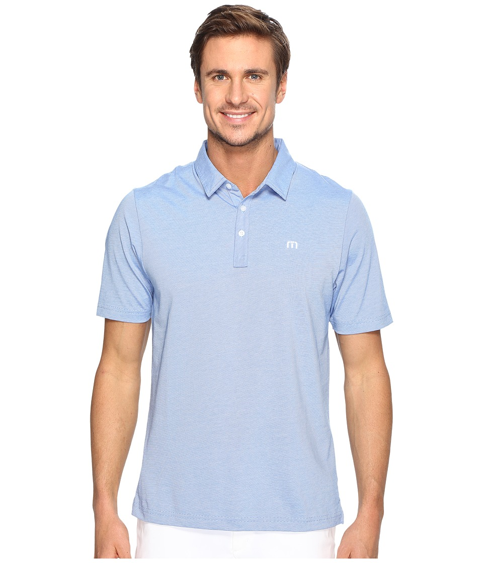 TravisMathew - The Zinna Polo (Strong Blue) Men's Clothing