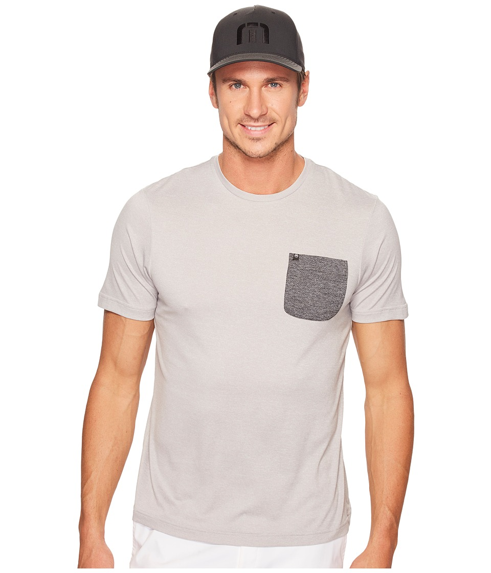 TravisMathew Garza Crew (Heather Griffin) Men