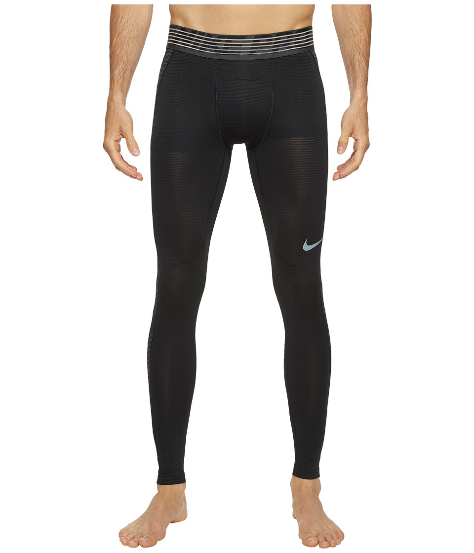 Nike Pro Hypercool Training Tight (Black/Anthracite/Metallic Hematite) Men