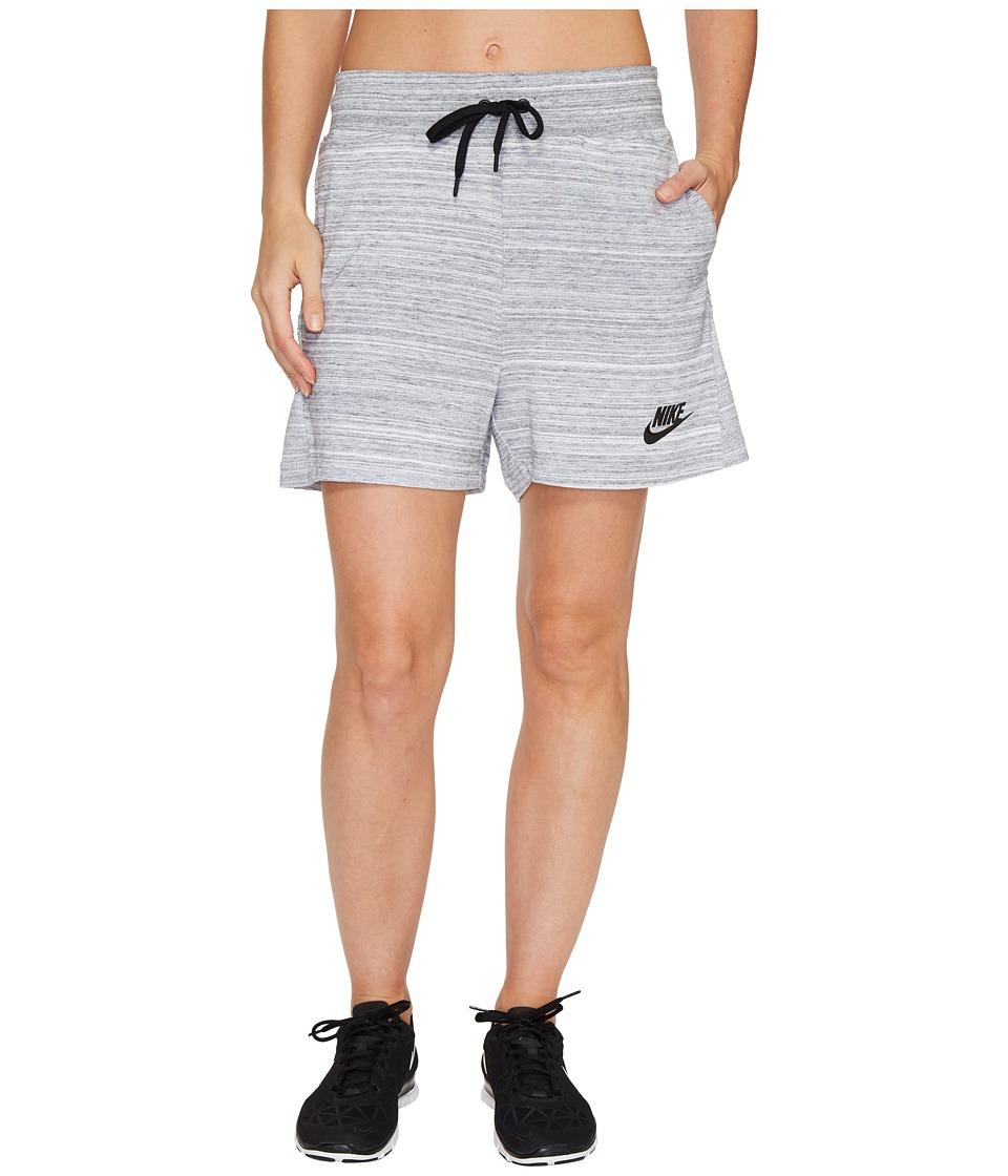 Nike Sportswear Advance 15 Short (White/Black) Women