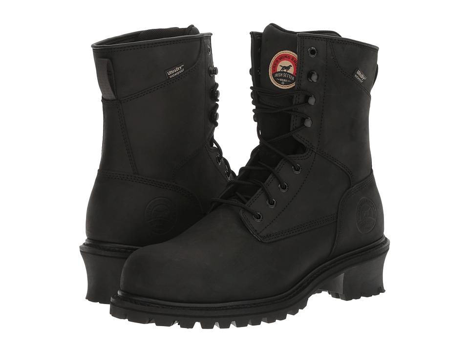 Irish Setter Mesabi 8 Steel Toe (Black) Men