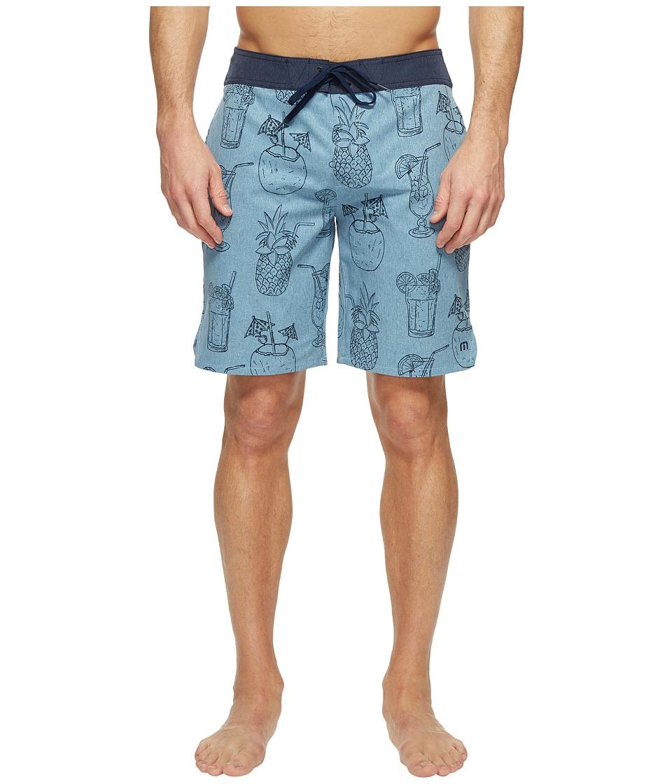 TravisMathew Antigua Shorts (Heather Vallarta Blue) Men