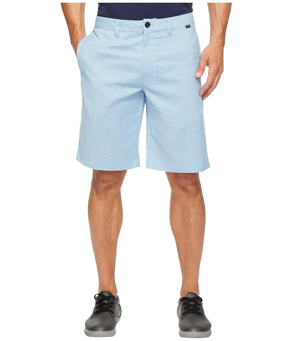 TravisMathew Romers Shorts (Cendre Blue) Men