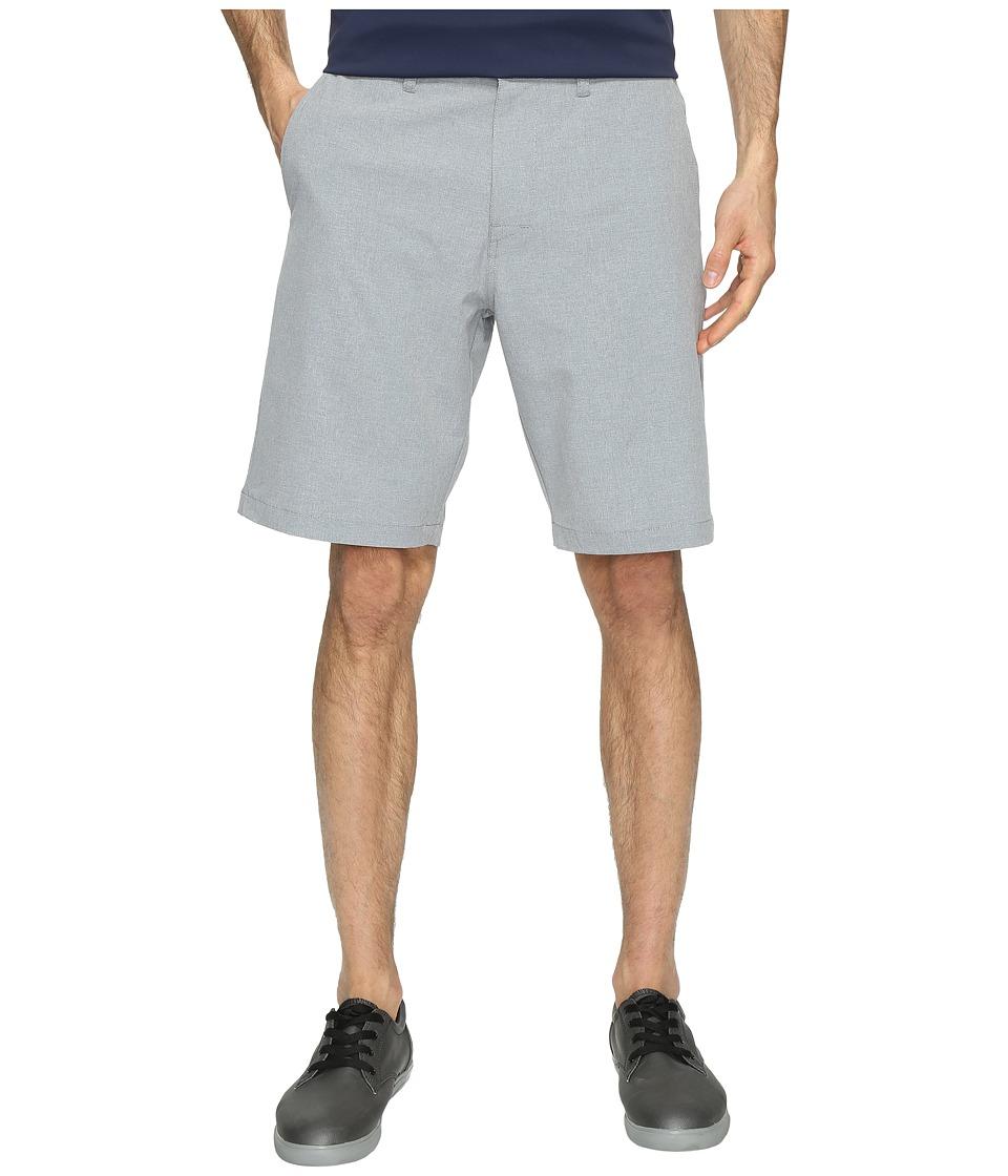 TravisMathew Beck Shorts (Light Grey) Men