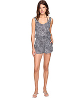 Stella McCartney - Mixed Animal and Elastic All-In-One Romper Cover-Up