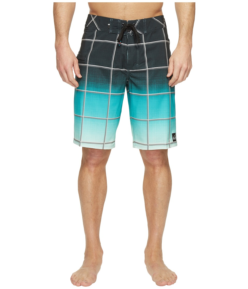 Quiksilver Everyday Electric Stretch Vee 21 Boardshorts (Four Leaf) Men