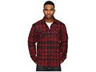 Thorton Flannel Long Sleeve Woven Shirt w/ Black Sherpa