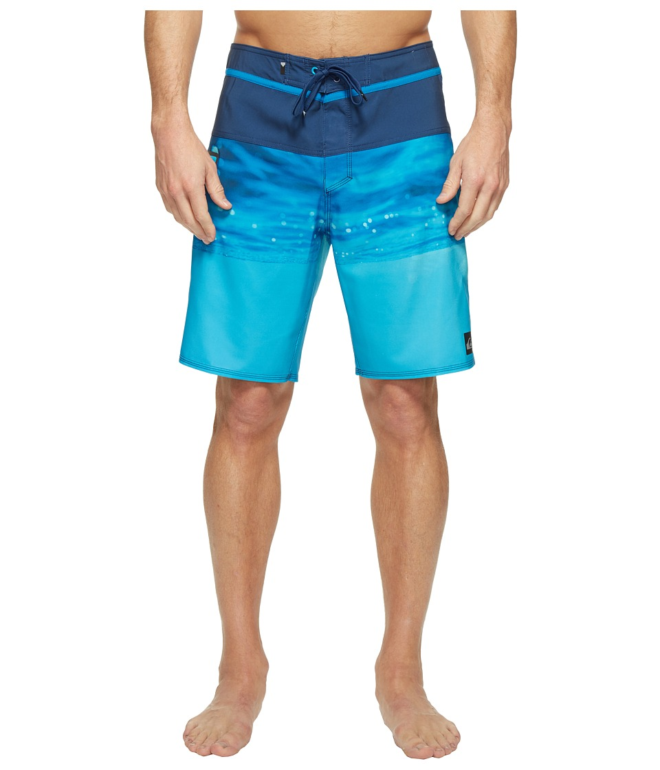 Quiksilver Hold Down Vee 19 Boardshorts (Estate Blue) Men