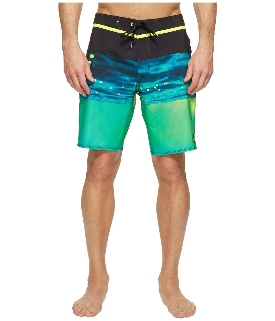 Quiksilver Hold Down Vee 19 Boardshorts (Safety Yellow) Men