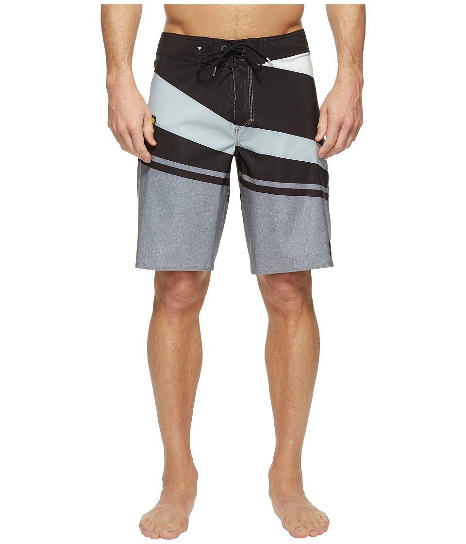 Quiksilver Slash Vee 20 Boardshorts (Tarmac) Men