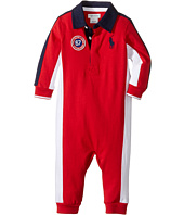 Ralph Lauren Baby - Jersey Rugby One-Piece Coveralls (Infant)
