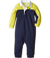Ralph Lauren Baby - Interlock Color Block One-Piece Coveralls (Infant)