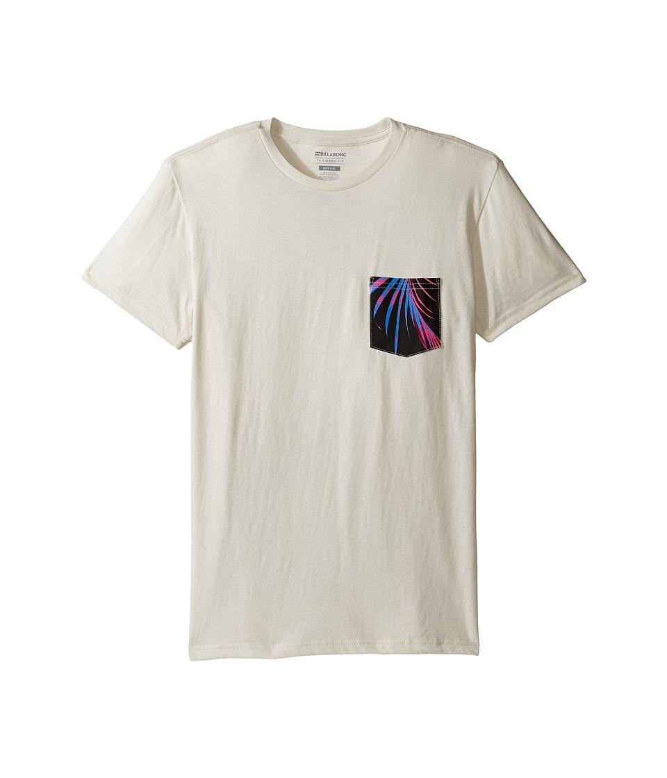 Billabong Kids Team Pocket T-Shirt (Big Kids) (Rock) Boy