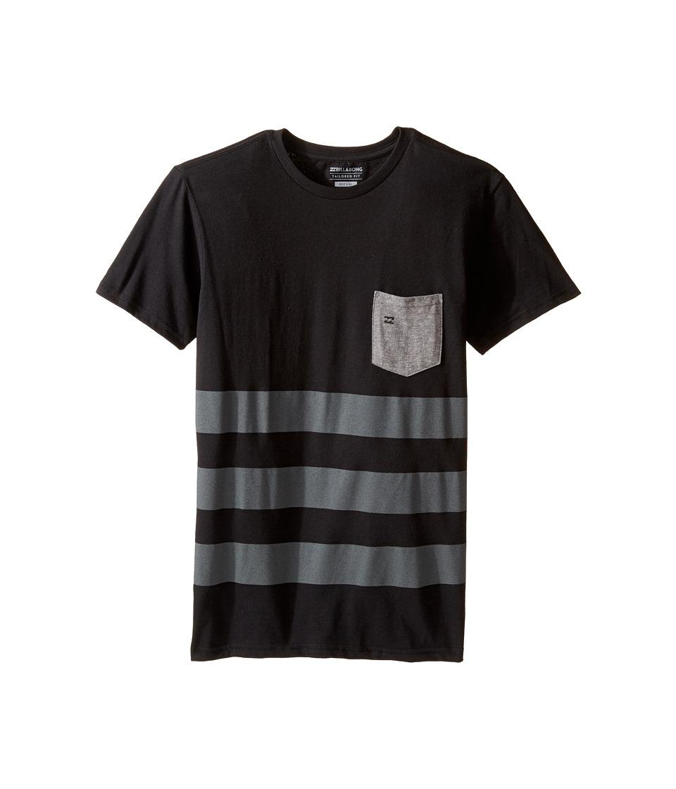 Billabong Kids Season Shirt (Big Kids) (Black) Boy