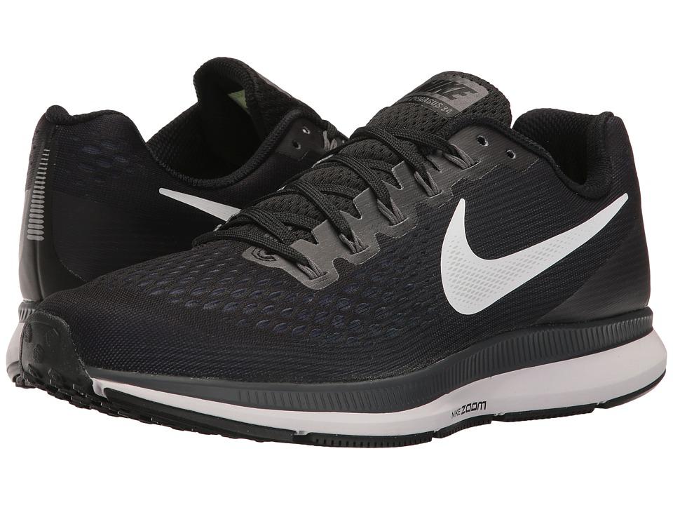 Nike Air Zoom Pegasus 34 (Black/White/Dark Grey/Anthracite) Men