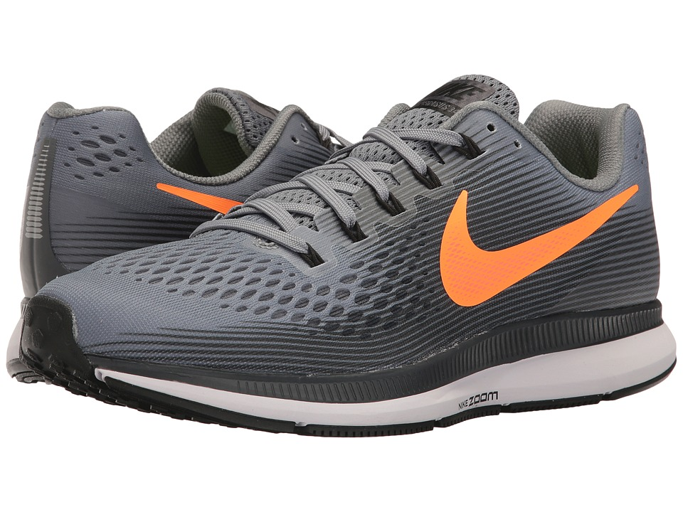 Nike Air Zoom Pegasus 34 (Pure Platinum/Black/Tart/Hyper Orange) Men