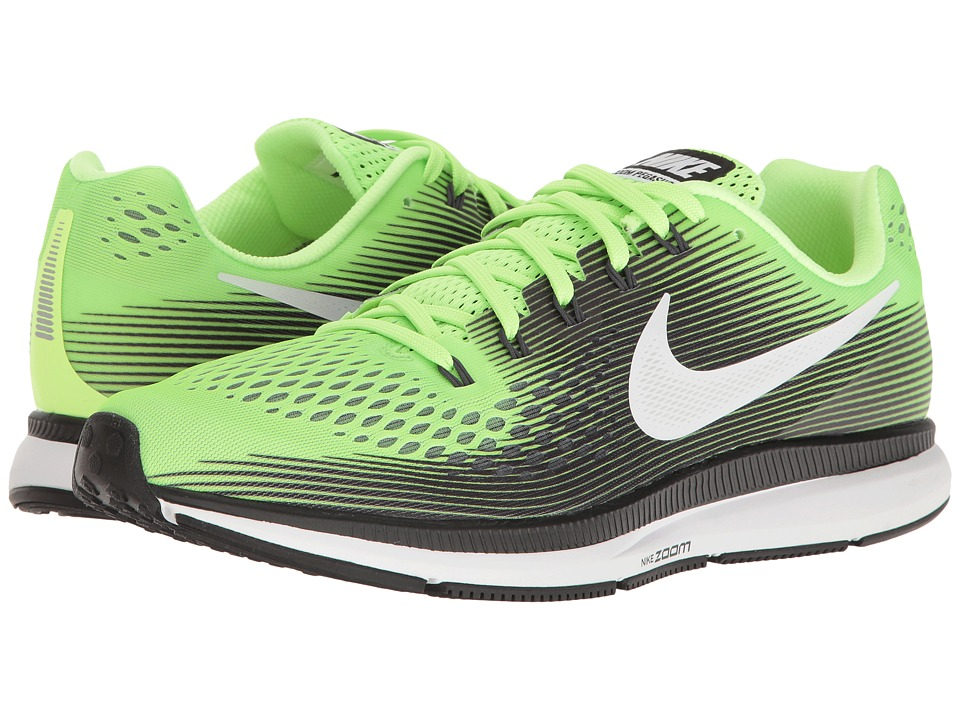 Nike Air Zoom Pegasus 34 (Ghost Green/White/Black/Cool Grey) Men