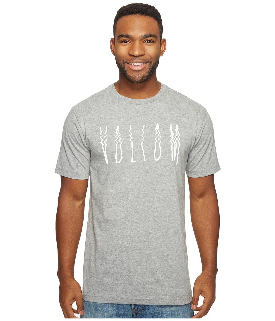 Volcom Smear T-Shirt (Heather Grey) Men