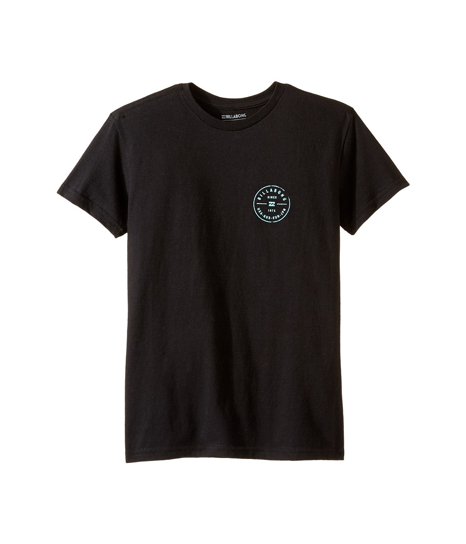 Billabong Kids Riot Rotor T-Shirt (Toddler/Little Kids) (Black) Boy