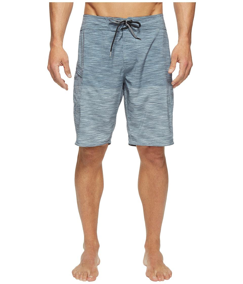 Volcom Lido Heather Mod 20 Boardshorts (Smokey Blue) Men