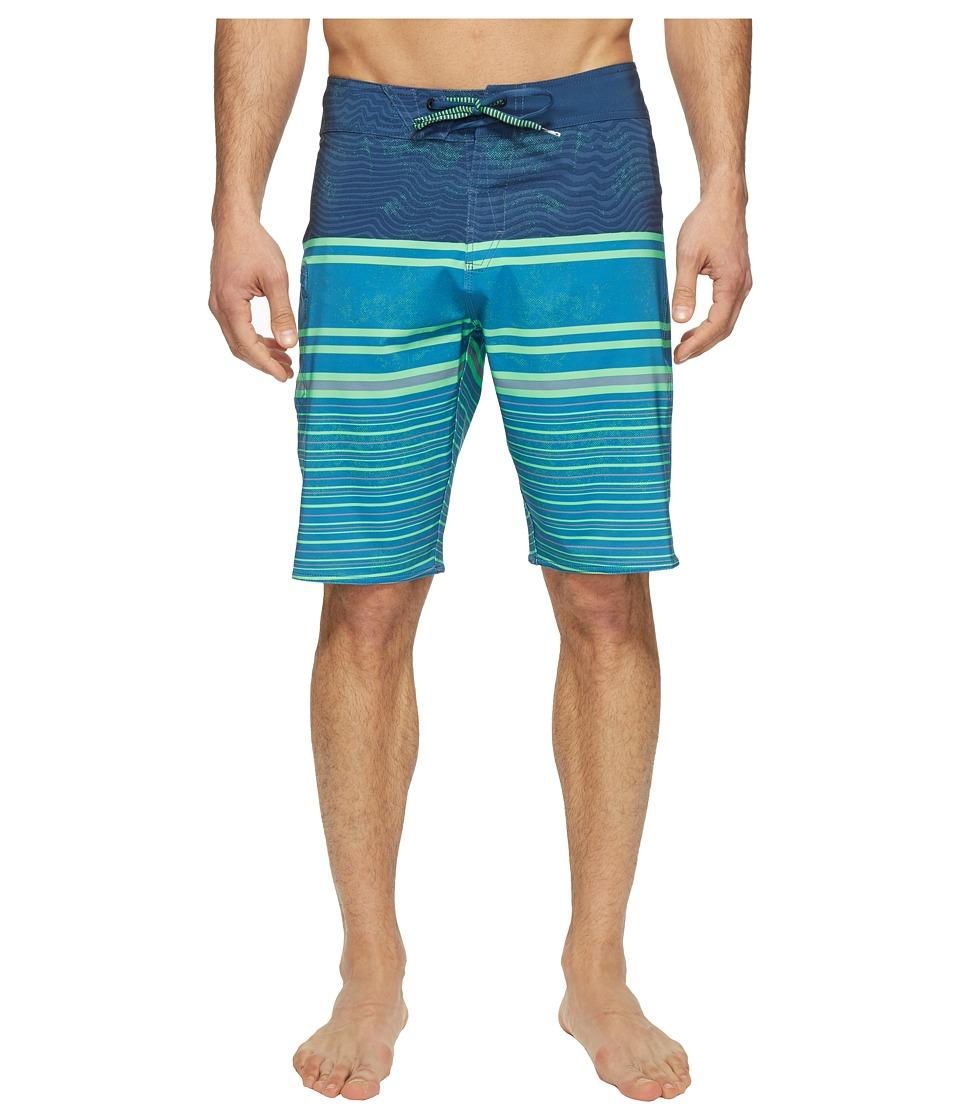 Volcom Lido Liney Mod 21 Boardshorts (Deep Water) Men