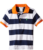 Ralph Lauren Baby - Yarn-Dyed Mesh Stripe Polo Top (Infant)