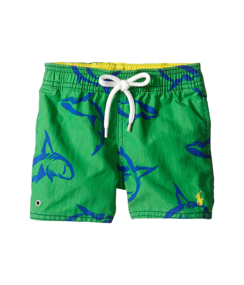 Ralph Lauren Baby Polyester Captiva Boardshorts (Infant) (Shark) Boy