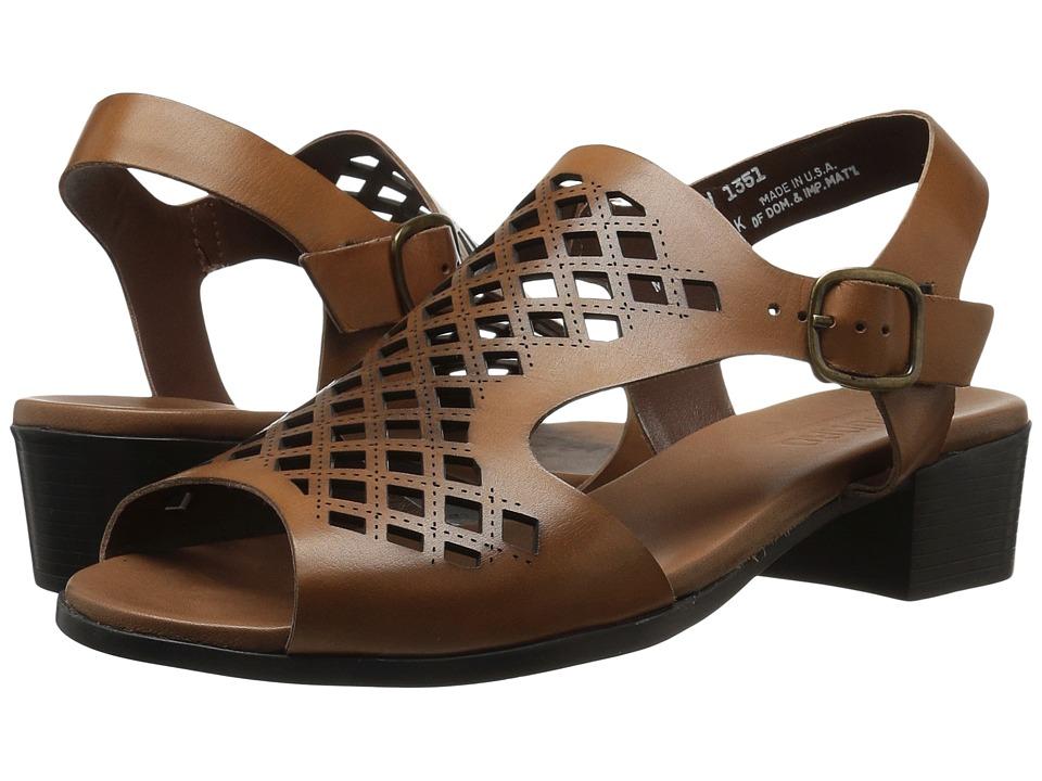 Munro - Martie (British Tan Leather) Women's  Shoes