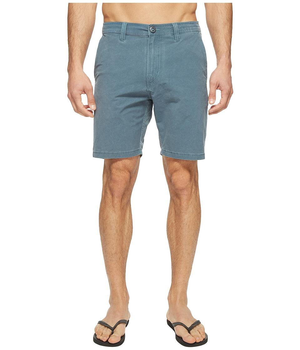 Volcom SNT Faded Hybrid Shorts (Air Force Blue) Men