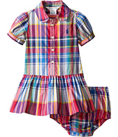 Ralph Lauren Baby - Poplin Plaid Dress (Infant)
