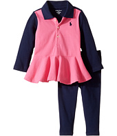 Ralph Lauren Baby - Cotton Jersey Jodhpur Leggings Set (Infants)